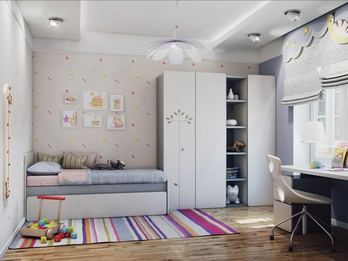Hogares Frescos 100 Diseos de Habitaciones para Nias Consejos y