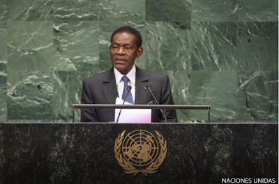OBIANG VUELVE A VERDER HUMO EN LA ASAMBLEA GENERAL DE LA  ONU