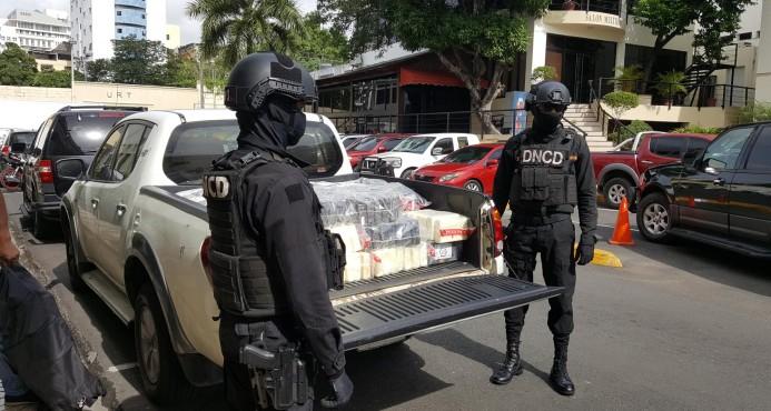 DNCD ocupa 341 paquetes de droga en Puerto Caucedo