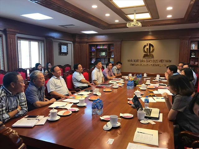 lãnh đạo NXB Giáo dục Việt Nam