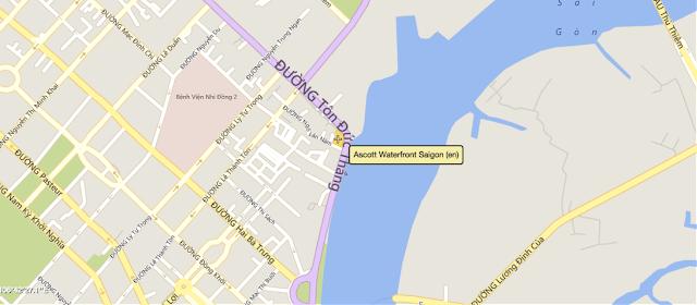 Vị trí dự án Waterfront Sài Gòn
