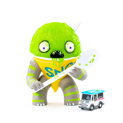 Lime Flavored Abominable Snow Cone Vinyl Figure by Jason Limon x Martian Toys