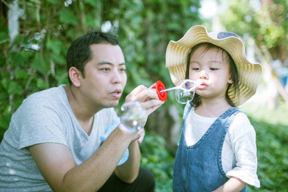 全家福兒童攝影台北戶外寶貝日系寫真推薦拍照