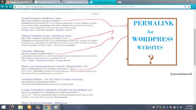 how to edit permalink in wordpress