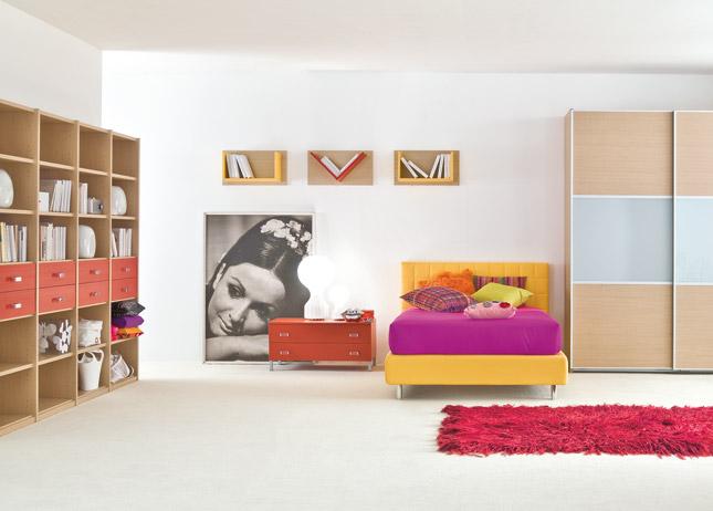Dormitorios juveniles para chicos dormitorios con estilo for Muebles modulares juveniles
