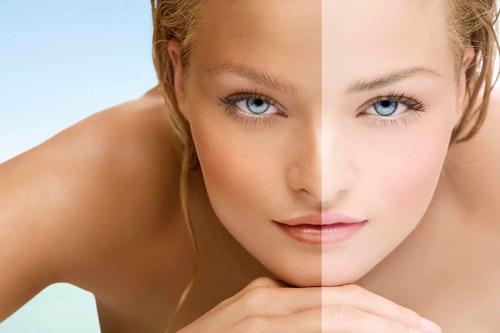 tác dụng của collagen nước trước và sau khi sử dụng