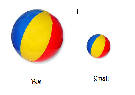 "Pre Kinder Nightingales: ""Big and Small"""