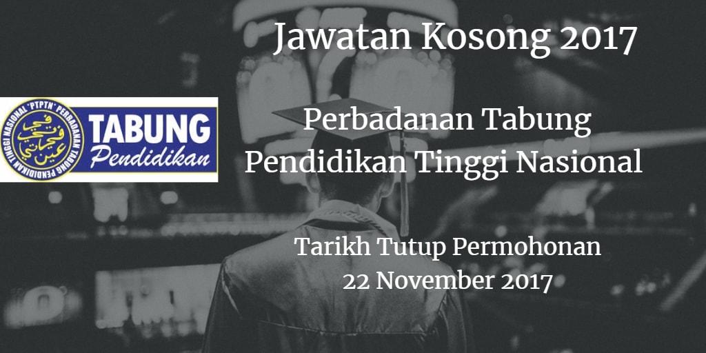 Jawatan Kosong PTPTN 22 November 2017