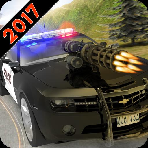 تحميل لعبه Police car shoot war مهكره اصدار v1.3.43