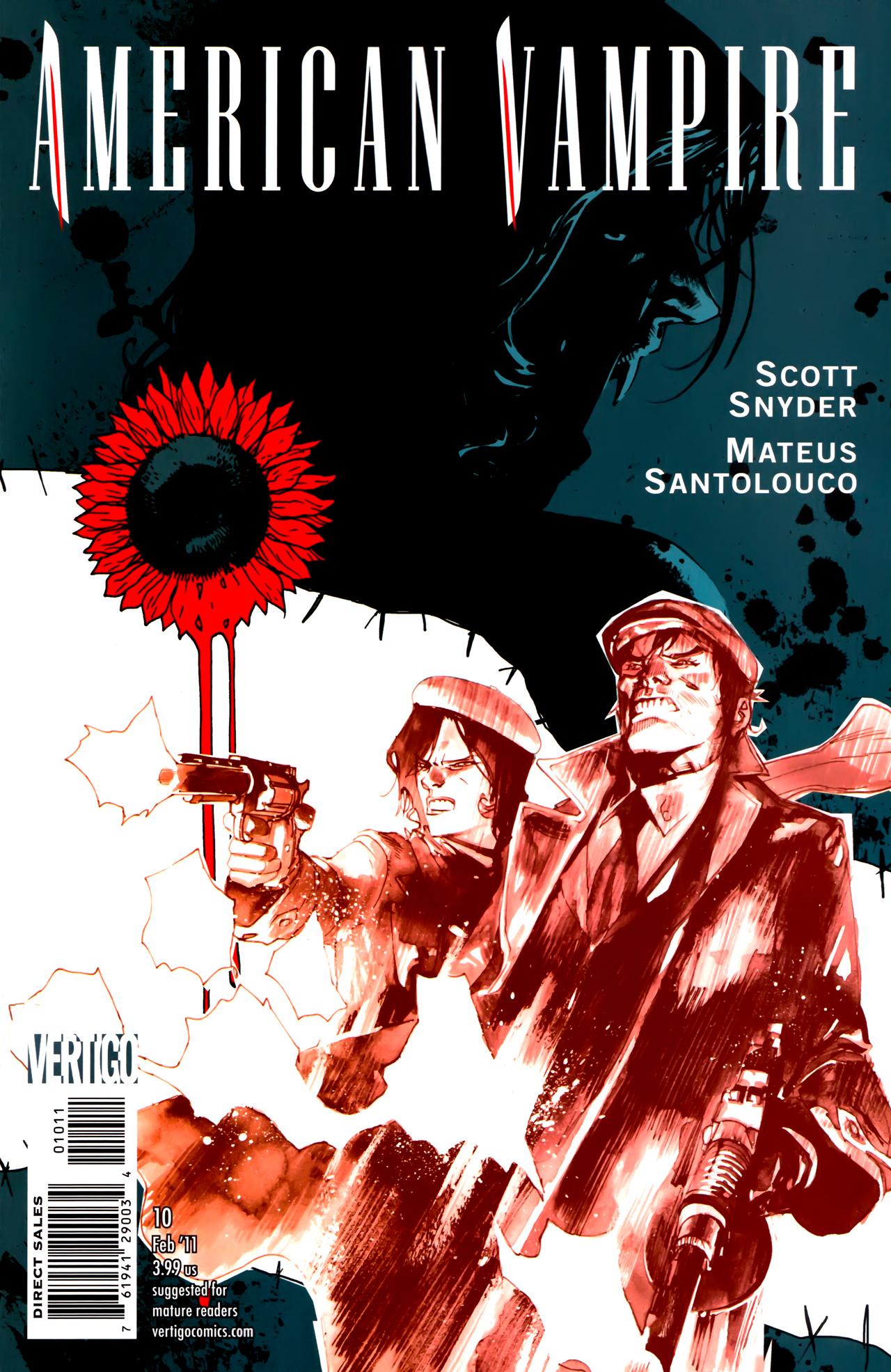 Read online American Vampire comic -  Issue #10 - 1