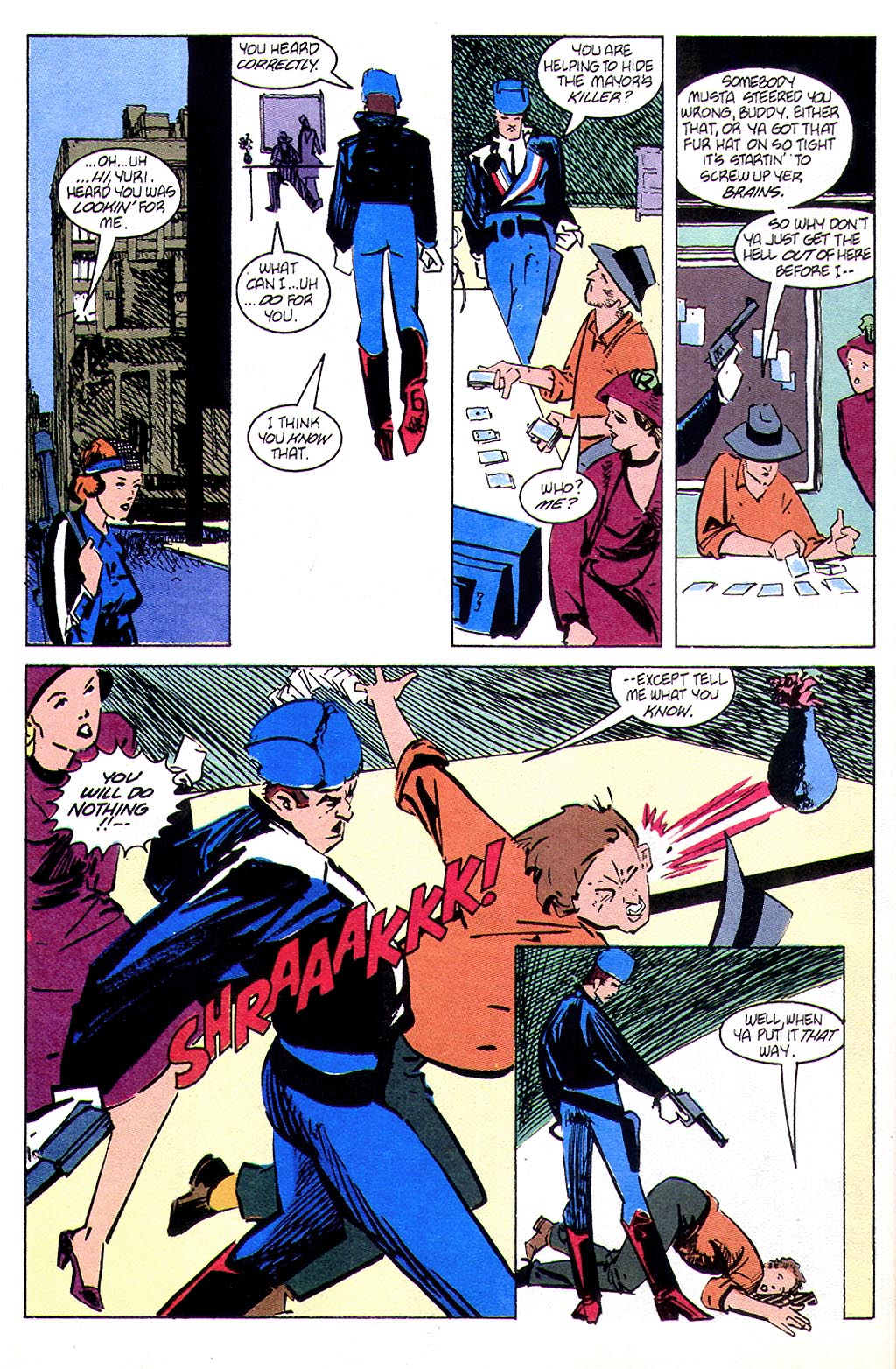 Read online American Flagg! comic -  Issue #45 - 18