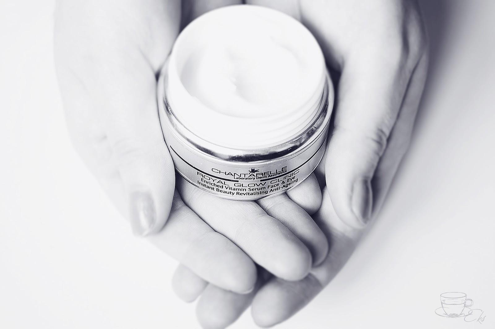 ROYAL GLOW CLINIC serum witaminowe dla skóry twarzy i pod oczy