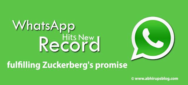 Whatsapp reaches 1 million user all over world
