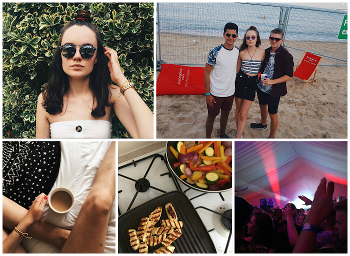 A lifestyle roundup of my week at university featuring all I've bought, watched, eaten, seen and been up to. Featuring a beach rave, cutting my hair off and the best halloumi