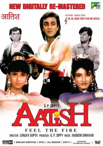Aatish: Feel the Fire (1994) Full Movie Hindi 720p HDRip 1.2GB ESubs