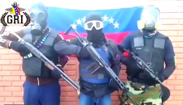 Pronunciamiento Funcionarios Activos en contra Maduro