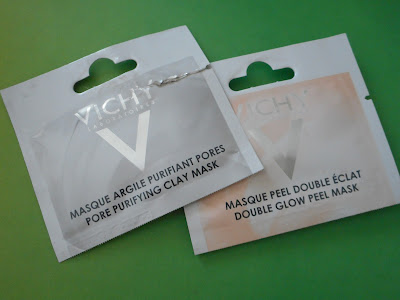 Vichy Pore Purifying Clay Mask and Double Glow Peel Mask