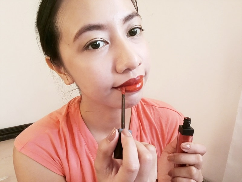 M.U.S.T. Signature Liquid Lip Tint in RedPink 955