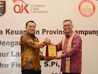 Forum Komunikasi Industri Jasa Keuangan Apresiasi Kinerja Gubernur M.Ridho Ficardo