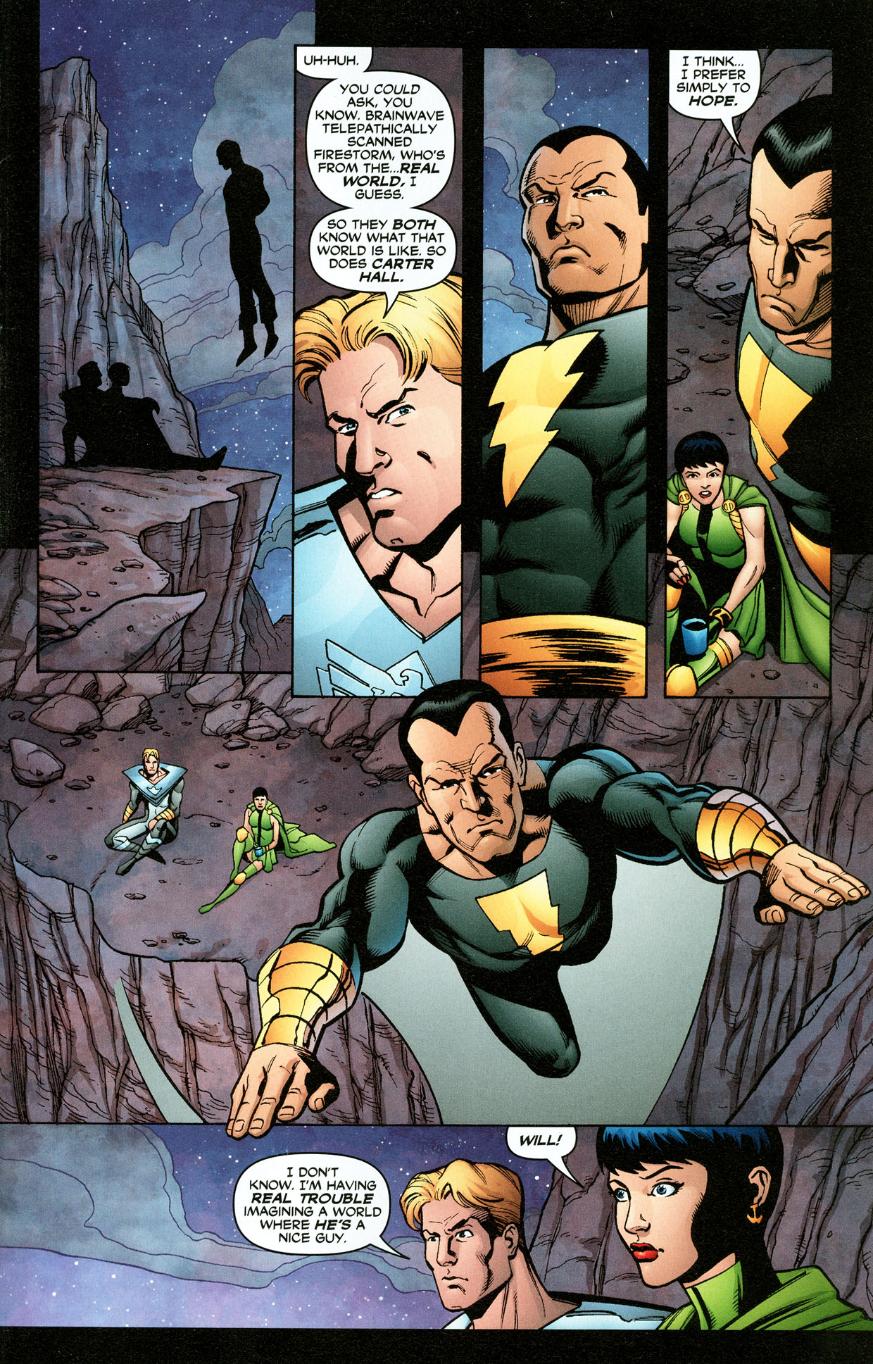 Read online Trinity (2008) comic -  Issue #32 - 24