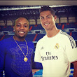 Kcee Visits The Bernabeu, Spotted With Cristiano Ronaldo [Photos]