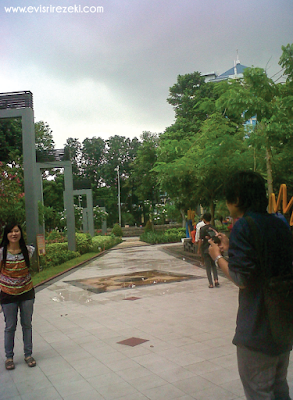 Sekelumit Cerita di Taman Bungkul Surabaya