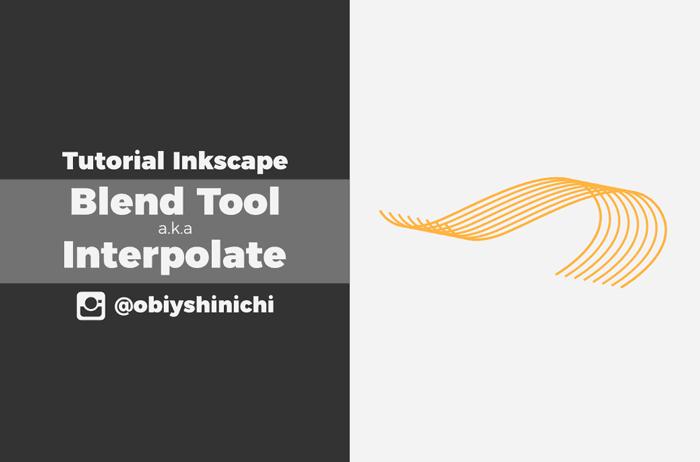 Blend Tool pada Inkscape