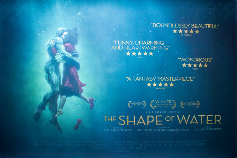 the shape of water uk poster