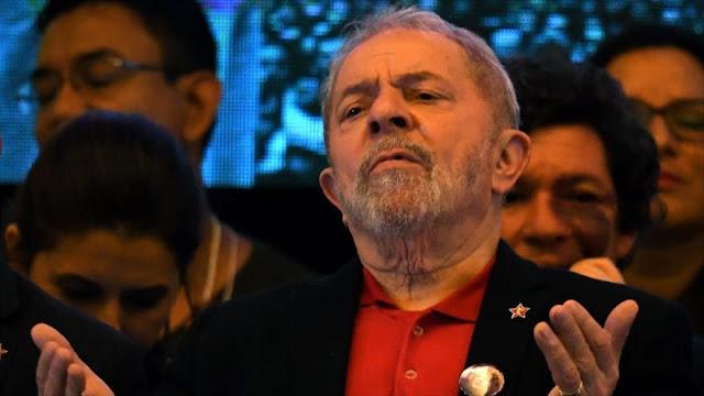 "Fiscalía de Brasil pide prisión para Lula por ""corrupción pasiva"""
