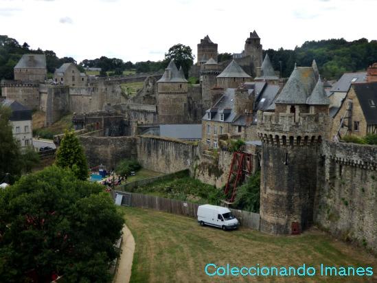 Visitar el castillo de Chenonceau y Fougeres