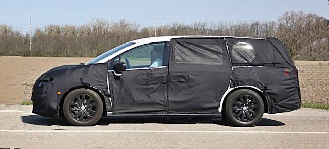 2017 Honda Odyssey Minivan Redesign