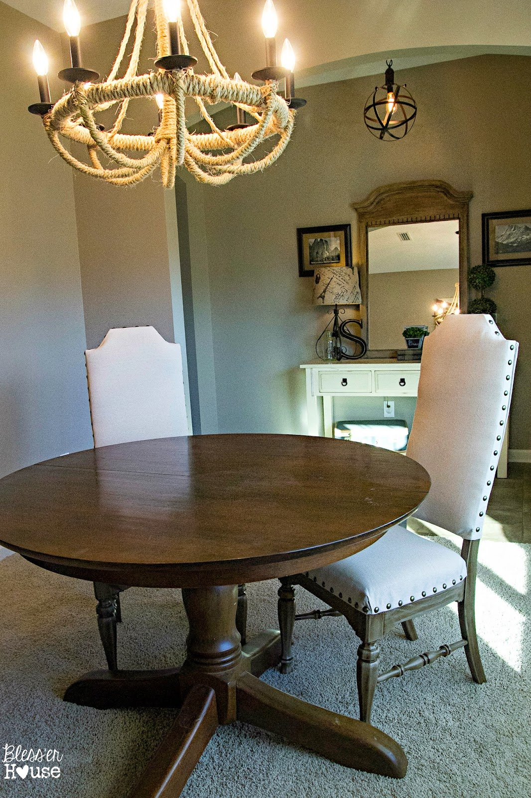 Restoration Hardware Chair Knock Off No Sew Dining Chairs Bless 39er House