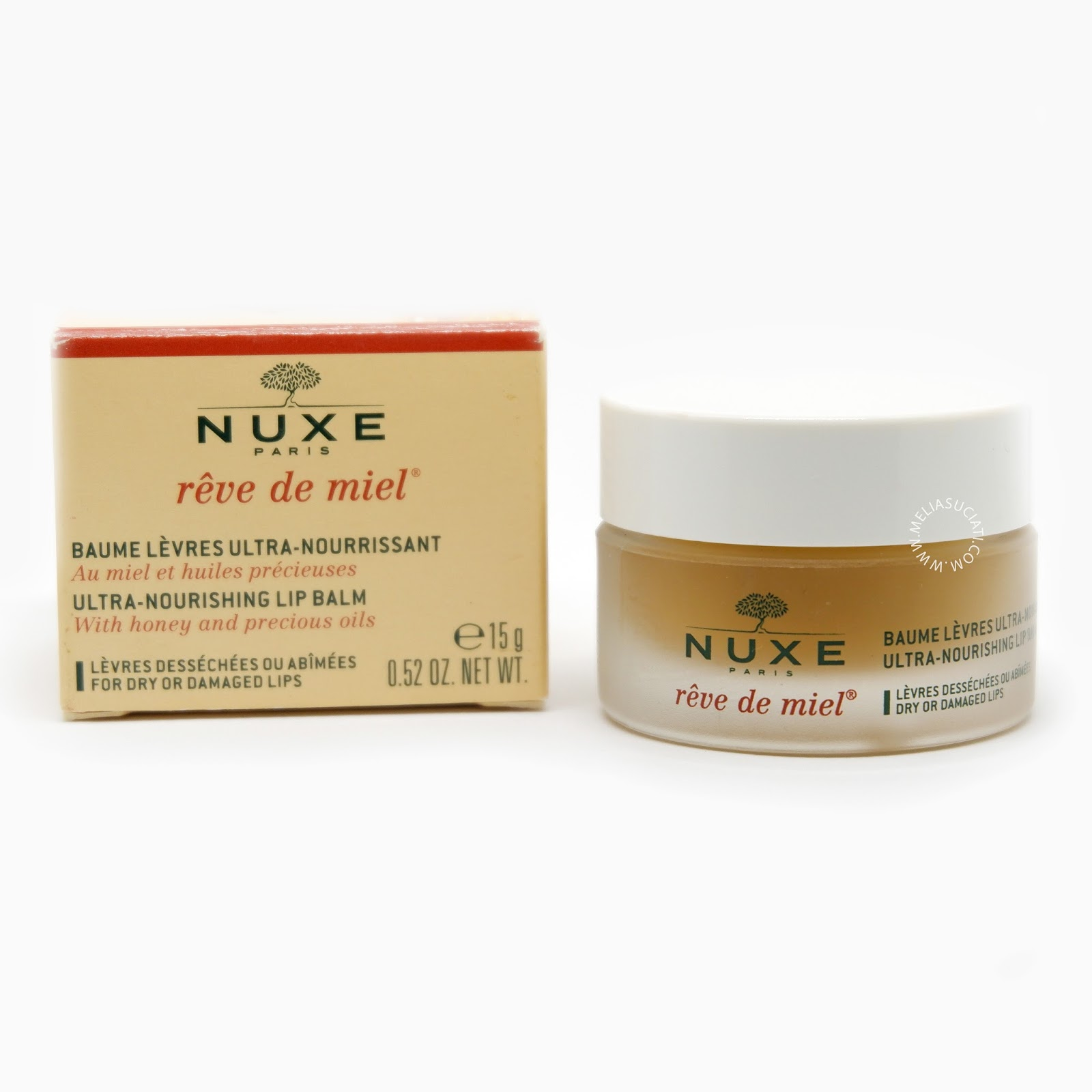 [Review] NUXE reve de miel-Lip Balm