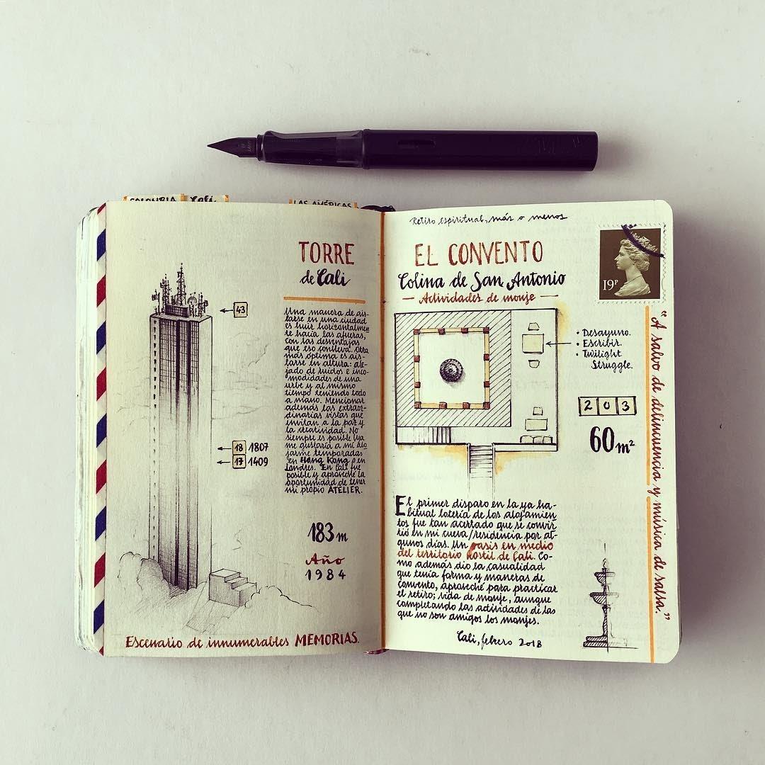 04-City-monk-life-Jose-Naranja-Urban-Drawings-Travel-Journal-www-designstack-co