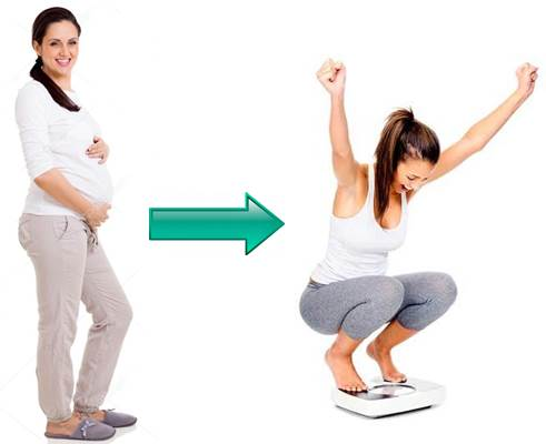 Perder peso rápido luego del embarazo