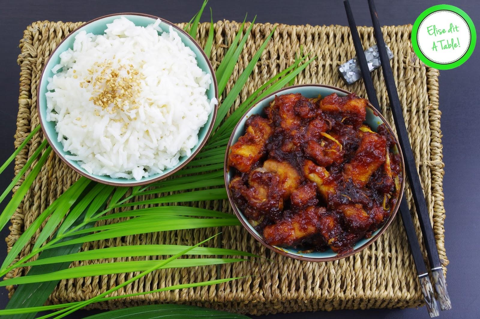 recette recette porc au caramel blog cuisine. Black Bedroom Furniture Sets. Home Design Ideas