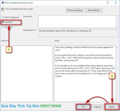 Hướng dẫn tắt màn hình đăng nhập Lock Screen