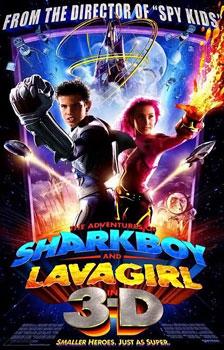 Xem Phim Cậu Bé Cá Mập Và Cô Bé Nham Thạch - The Adventures of Sharkboy and Lavagirl
