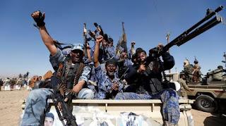 Bismillah... Koalisi Saudi Hancurkan Jaringan Komunikasi Militer Teroris Syiah Houtsi