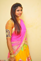 Lucky Sree in dasling Pink Saree and Orange Choli DSC 0354 1600x1063.JPG