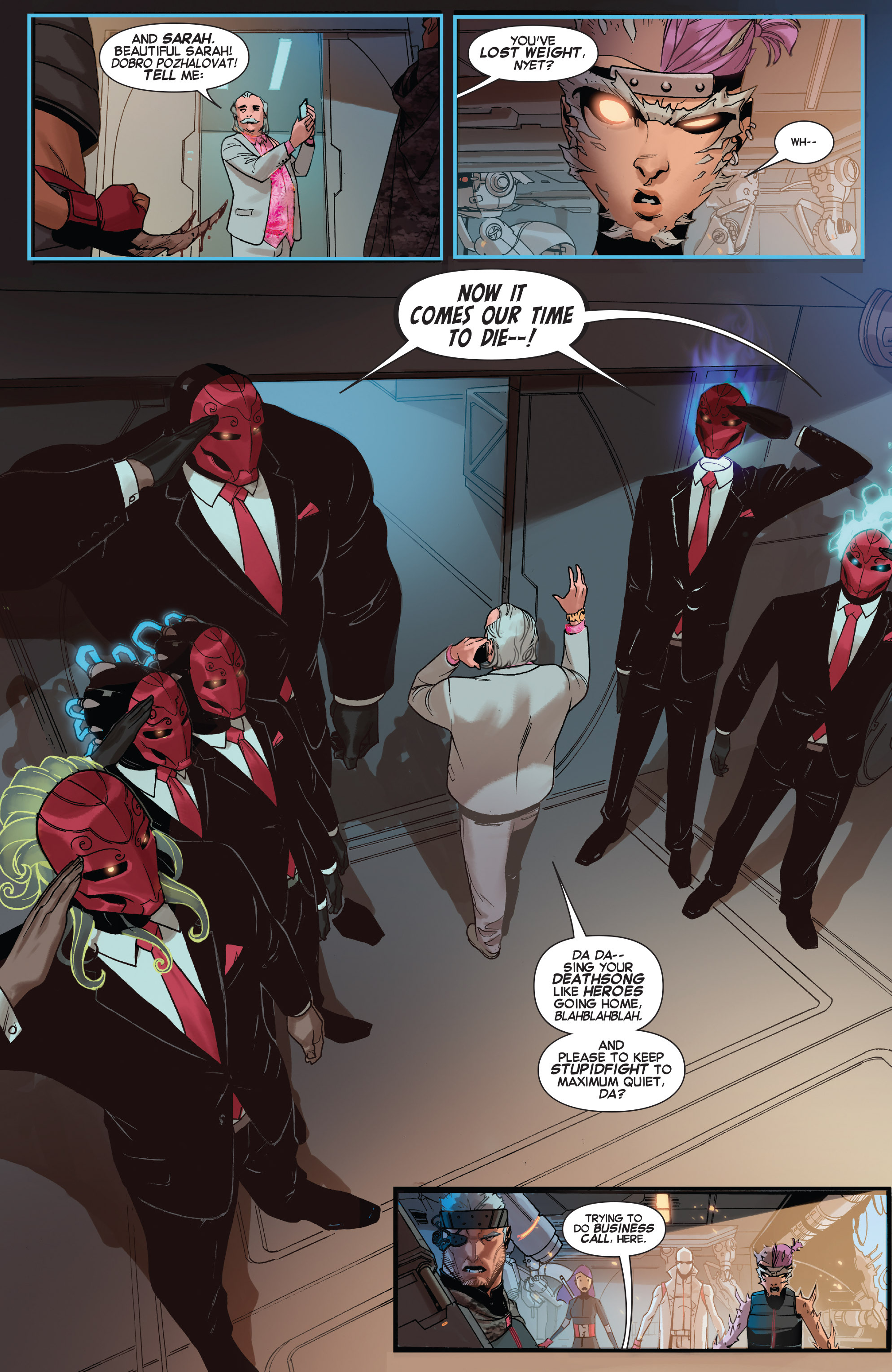 Read online X-Force (2014) comic -  Issue #5 - 11