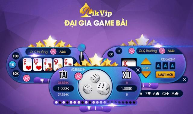 Rickvip game đánh bài ăn tiền lớn nhất Việt Nam