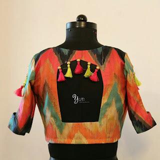 101 Stunning Saree Blouse Back Neck Designs Bling Sparkle