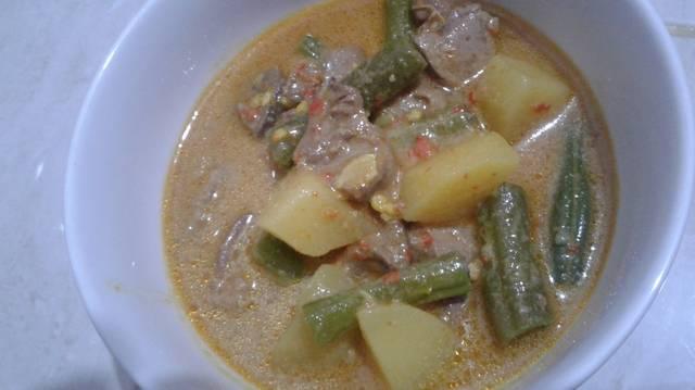 Resep ati masak santan ala rumah makan ciwidey