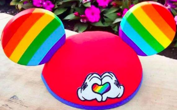 Mickey Mouse Pride ears