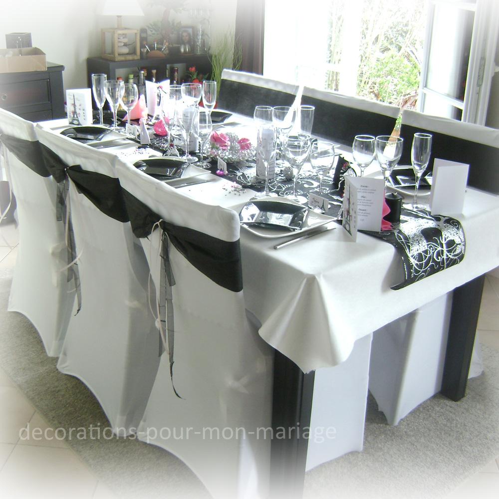 Decoration Chaise Mariage Chic Et Classe Blanc