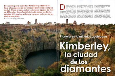 KIMBERLEY, LA CIUDAD DE LOS DIAMANTES