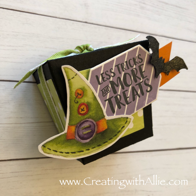 Check out the video tutorial showing you how to make Halloween card, where I show you tips and tricks for using Stampin Up's Toil and Trouble designer series paper and the takeout bundle!  You'll love how quick and easy this is to make!  www.creatingwithallie.com #stampinup #alejandragomez #creatingwithallie #videotutorial #cardmaking #papercrafts #handmadegreetingcards #fun #creativity #makeacard #sendacard #stampingisfun #sharewhatyoulove #handmadecards #friendshipcards #halloweencards