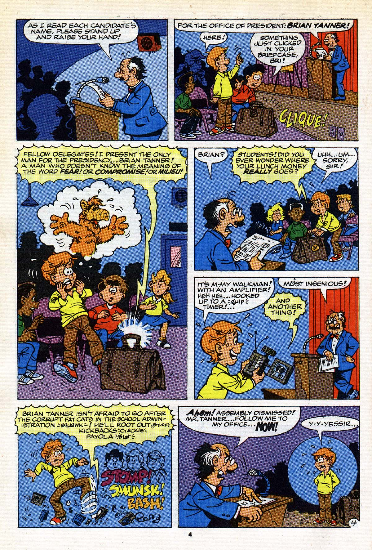 Read online ALF comic -  Issue #26 - 5