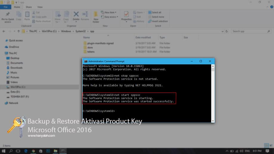 Mudahnya Backup dan Restore Product Key Microsoft Office 2016